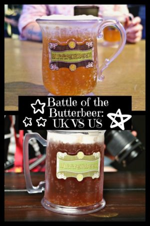 Battle of the Butterbeer: UK VS US pinterest pin