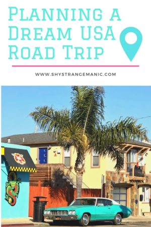 Planning a Dream US Road Trip Pinterest Pin