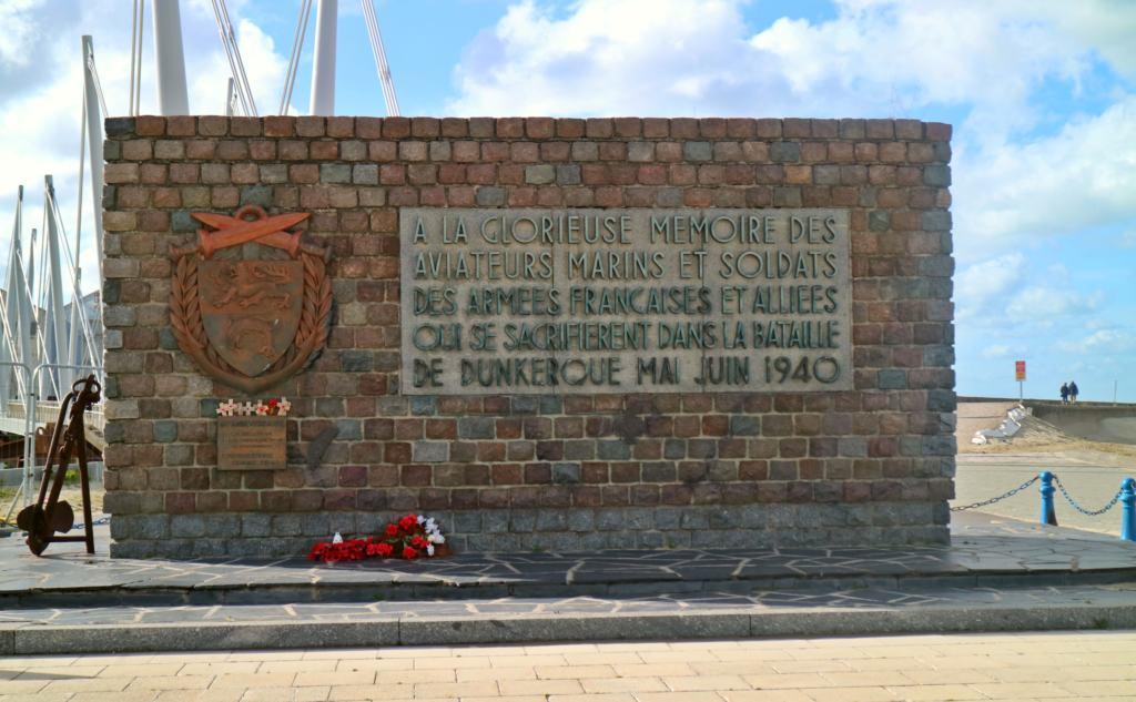 Dunkirk WWII memorial