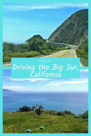Driving the Big Sur, California pinterest