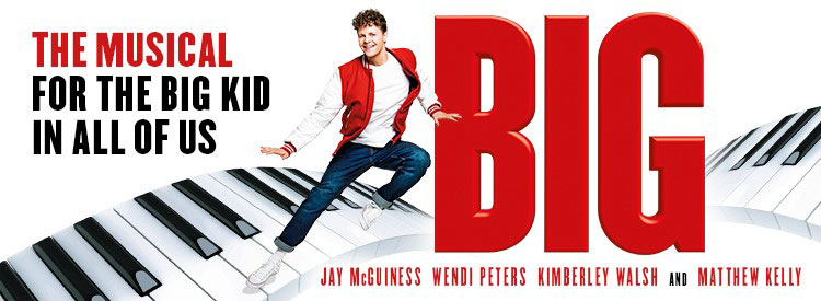 big the musical poster