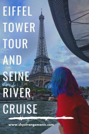 Eiffel Tower Tour and Seine River Cruise Pinterest Pin