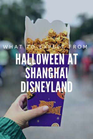 Halloween at Shanghai Disneyland Pinterest Pin