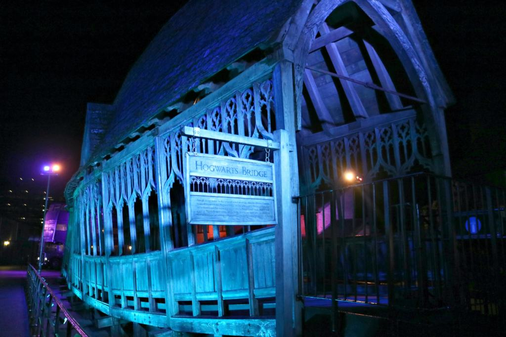Hogwart's Bridge at the Warner Bros. Studio
