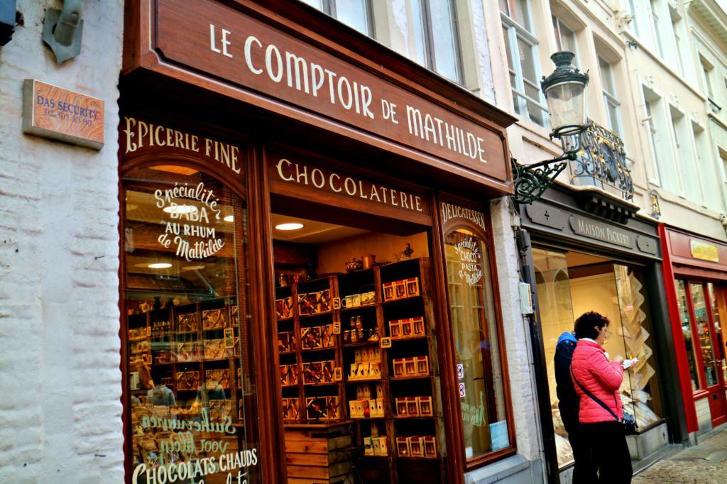 Chocolate shop in Brugge