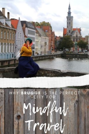 Brugge Mindful Travel Pinterest Pin