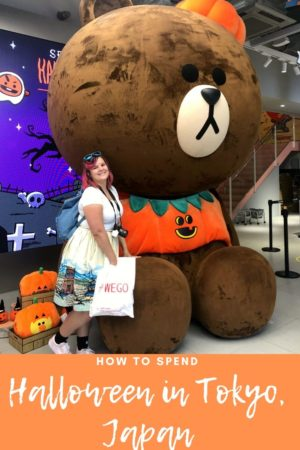 How to spend Halloween in Tokyo, Japan Pinterest pin