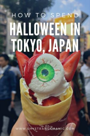 How to spend Halloween in Tokyo Pinterest Pin