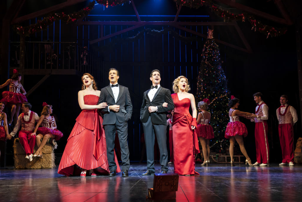 Main cast of White Christmas