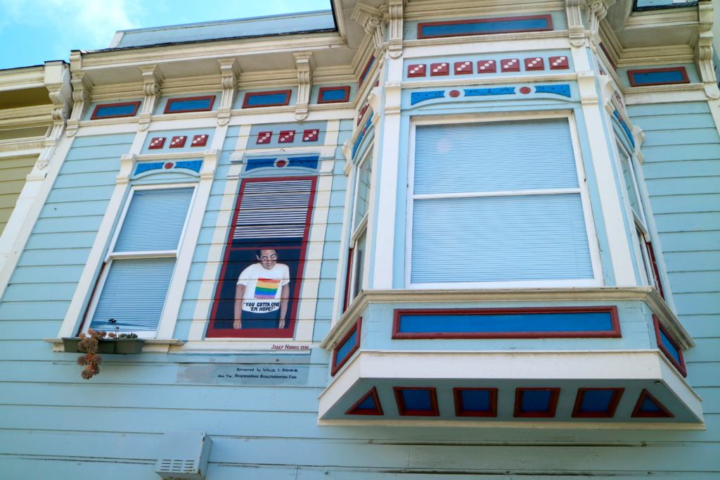 Harvey Milk's Camera Shop on the Cruisin' the Castro Walking Tour