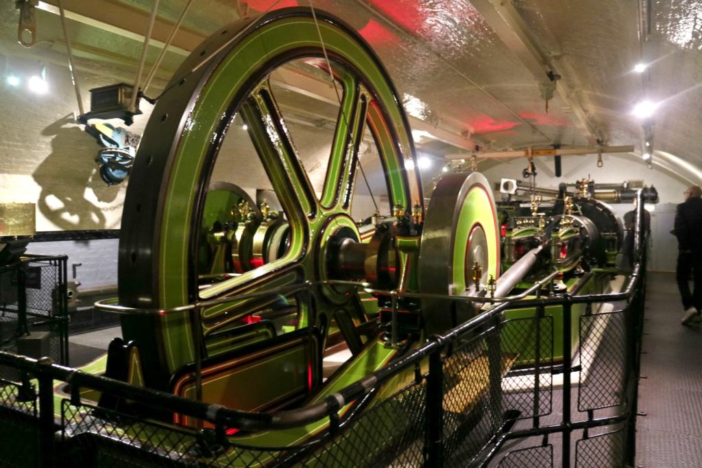 Victorian Pump Room equipment inside tower bridge