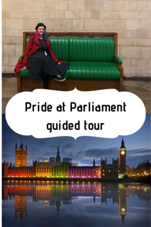 Pride at Parliament guided tour pinterest pin
