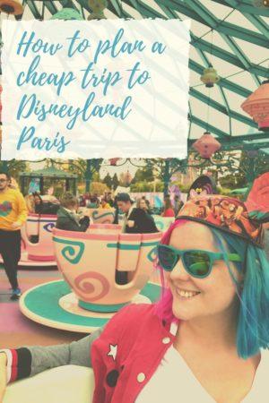 Cheap Disneyland Paris trip Pinterest Pin
