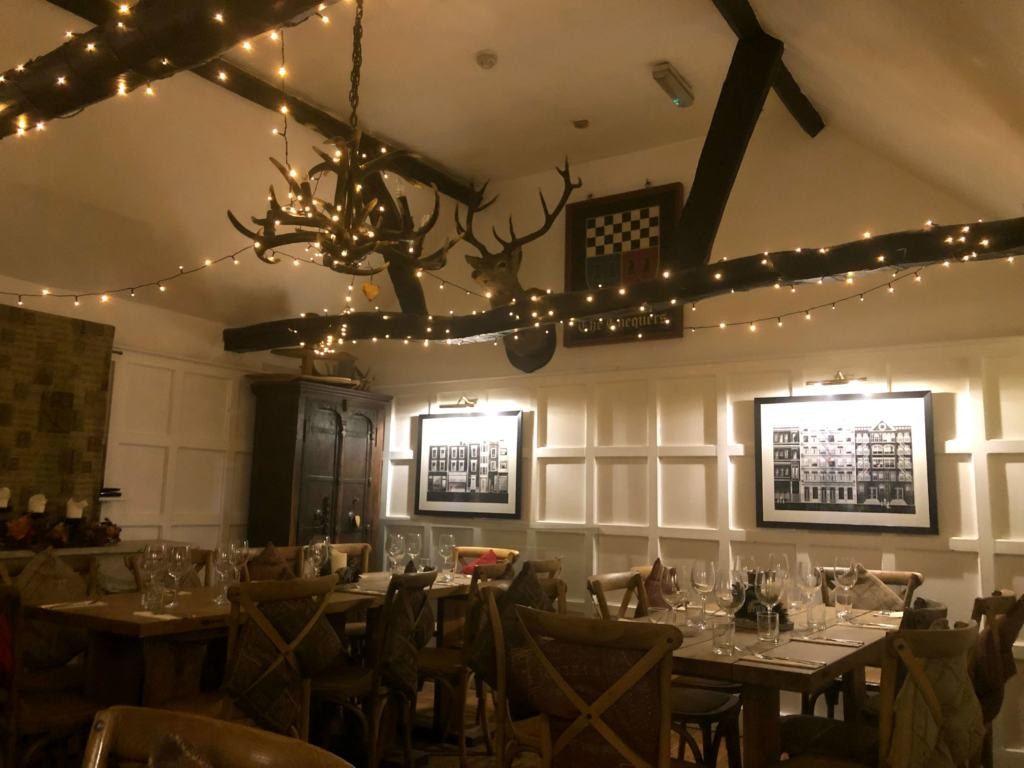 Interior of The Chequers Inn