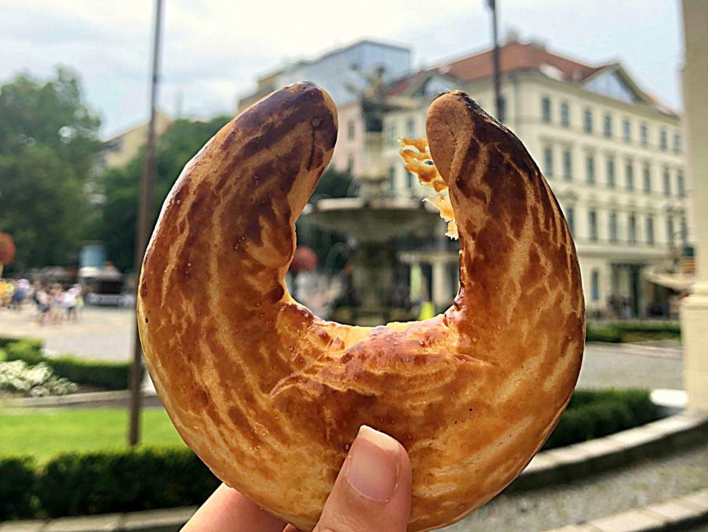 a traditional Slovakian snack