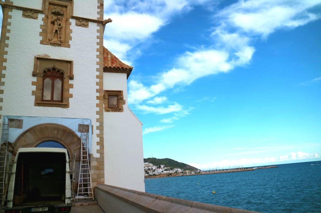 The exterior of The Maricel Museum is just one reason why you should Visit Sitges