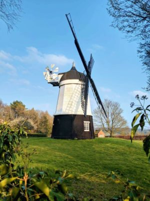 turville Village Windmill as seen in Chitty Chitty Bang Bang